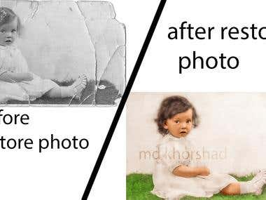 restore old photo