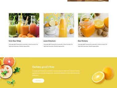 Juice Website