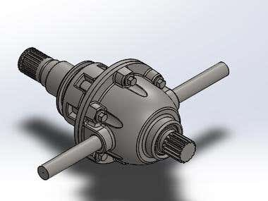 differential gearbox