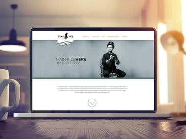 FogClub UI design