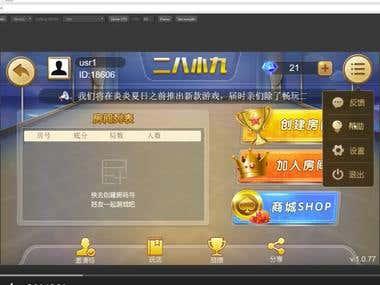 Cocos Js Game (二八小九)