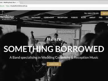 Backstage Web Application