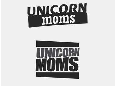 T-shirt prototype - Unicorn Moms