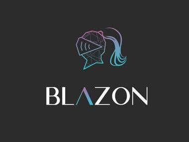 Minimalist Blazon Logo