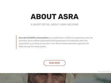 Asra Welfare Association