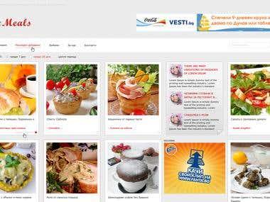 Epic Meals website