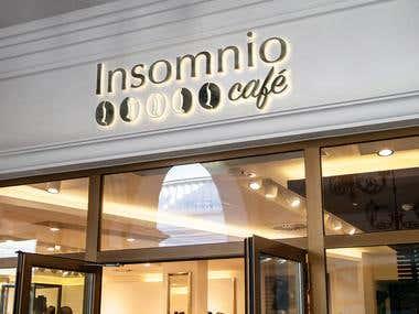 Logotipo Insomnio Café