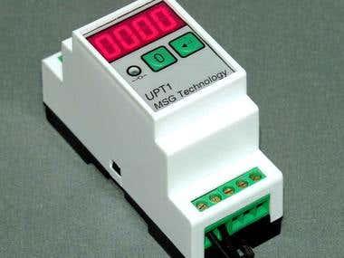 Universal microprocessor timer.