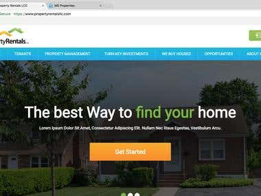 Build a Dynamic Real Estate website