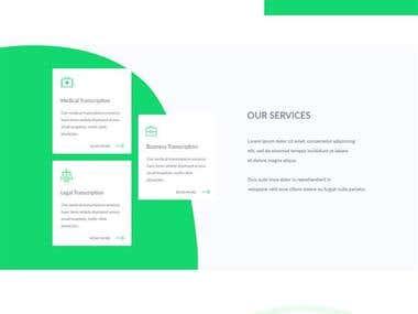 Nuscriptllc Website Design