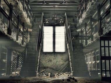 Run Down Prison 3D