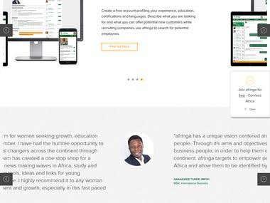 Afringa Homepage