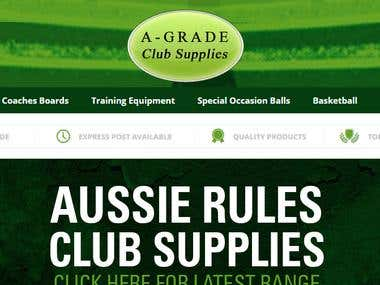 Agrade Club Supplies