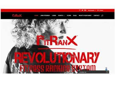 Fitranx multi site by wordpress Divi theme