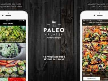Recipe App - Paleo Plate