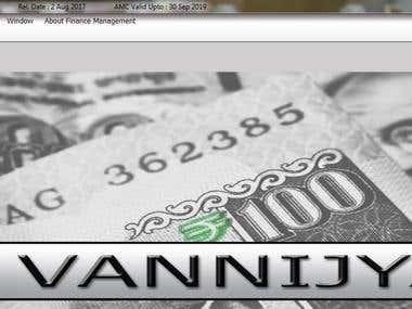 Vannijya (Finance Management) system