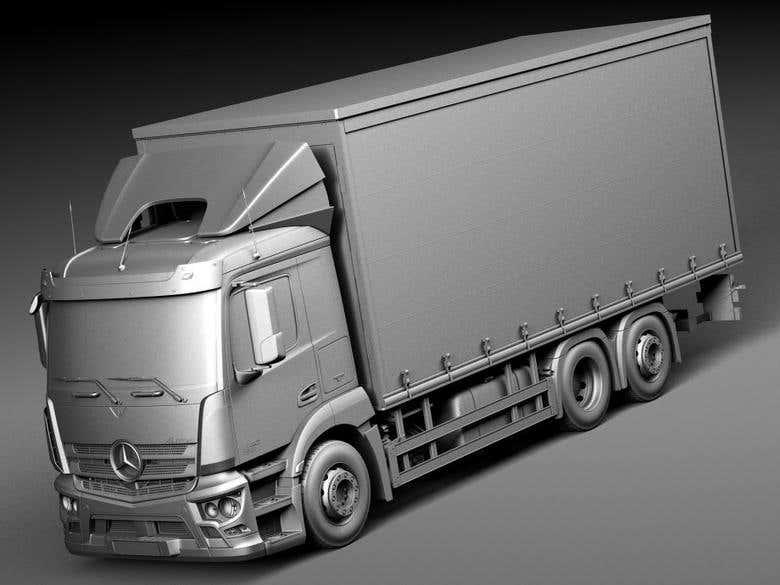 3D model interior and exterior vehicle modeling | Freelancer