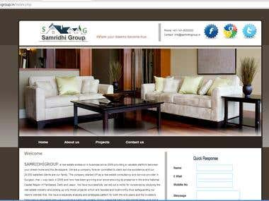 Website Development : http://www.samridhigroup.in/