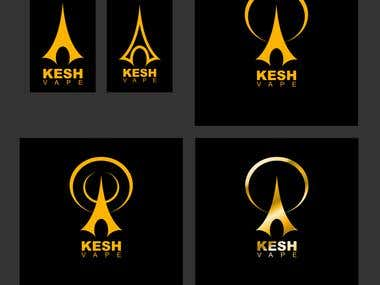 KESH VAPE, GOLD SET 1