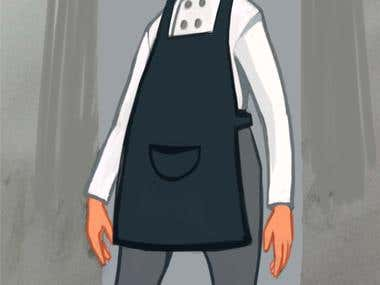 Character design - baker