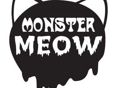 Logo Monster Meow