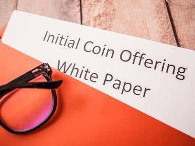 I Will Write Blockchain Whitepaper, Ico Whitepaper