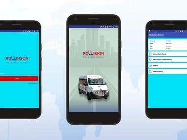 Rollinson School Bus Tracking App with Android & IOS