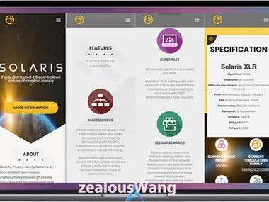 Solaris Web + MAC + Android Wallet