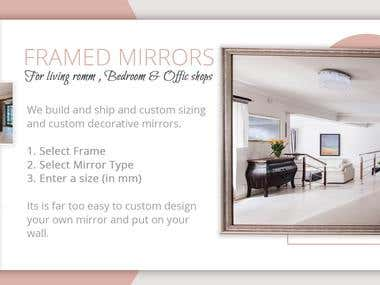 web banner mirror company