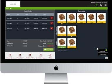 POS for Pizza Restaurant