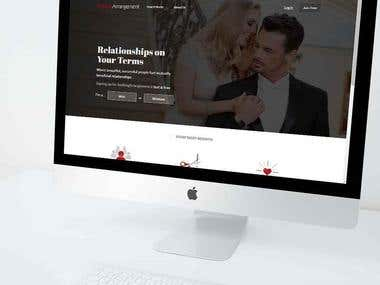 Online Dating web App with Android & IOS