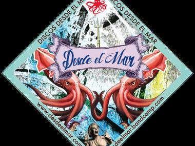 Sticker Desde el Mar