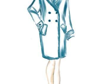 Sketch - coat
