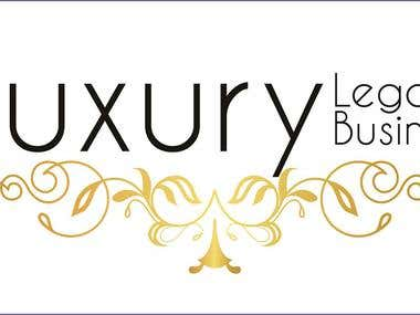 Logotipo Luxury