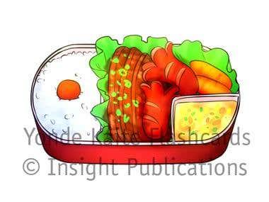 Food [Art for Japanese Language Flashcards]