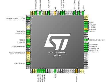 Arm Cortex M4 Based Development Board and Design
