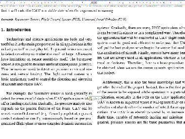 Proofreading article in engineering