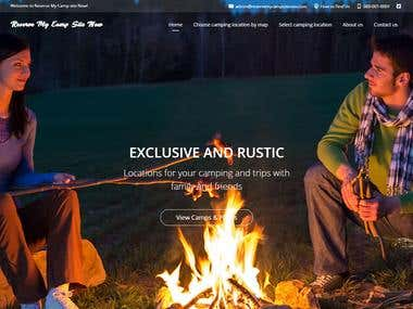 Reserve My Camp Site (camping reservation website)