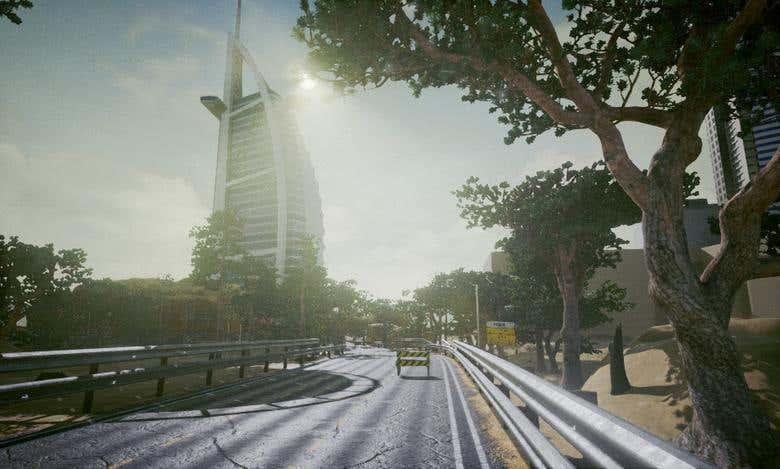 Dubai Racing VR Demo - UE4 | Freelancer