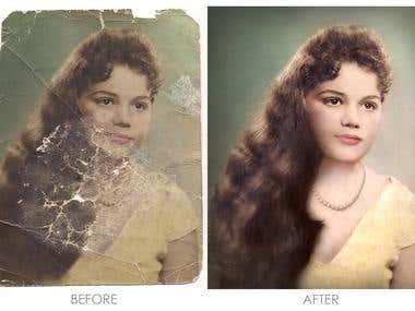 Old pics recovery/Recuperación de fotos viejas