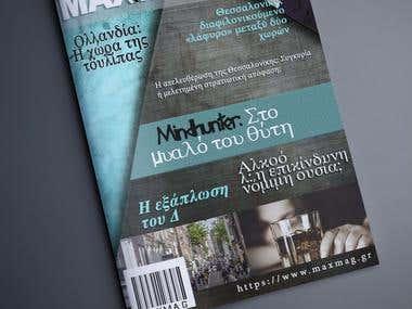 mgazine cover