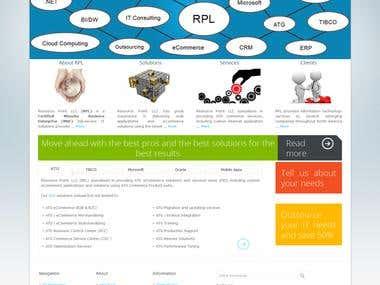Multi Purpose website