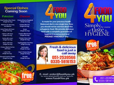 Food4You 3fold Brochure