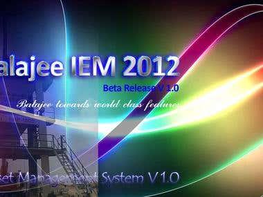 Balajee IEM 2012