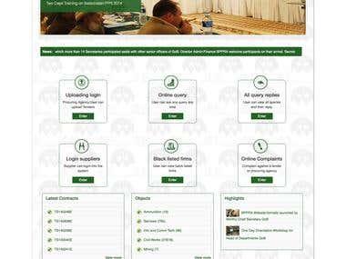Balochistan PPRA Web Portal