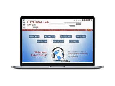 Web design for Stantons.com