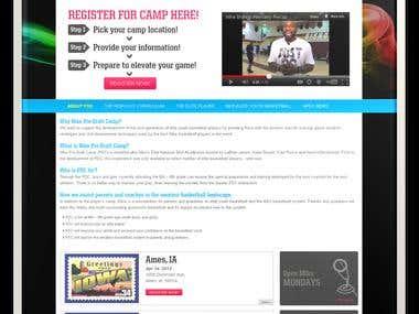 Nike Pre Draft Camp - Wordpress