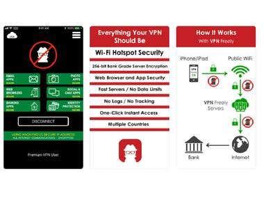 iOS VPN app