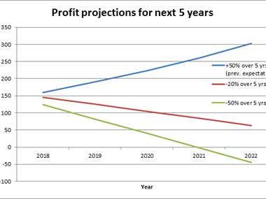 Profit Projection model