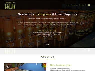 Grassroots Hydroponics